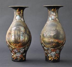 Papier-mache, Vases