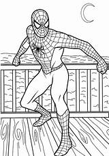 Coloring Pages Super Spiderman Hero Colouring Printable Superheroes Print Boys Printables Google sketch template