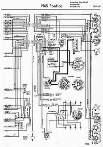 Wiring Diagrams Of 1965 Pontiac Catalina Star Chief Bonneville And Grand Prix Part 2  59709