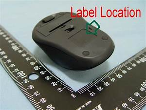 Wm100 Wireless Optical Mouse Label Diagram Sm227 U0026wm100