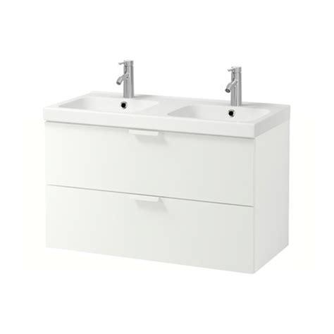 godmorgon odensvik meuble lavabo 2tir blanc ikea