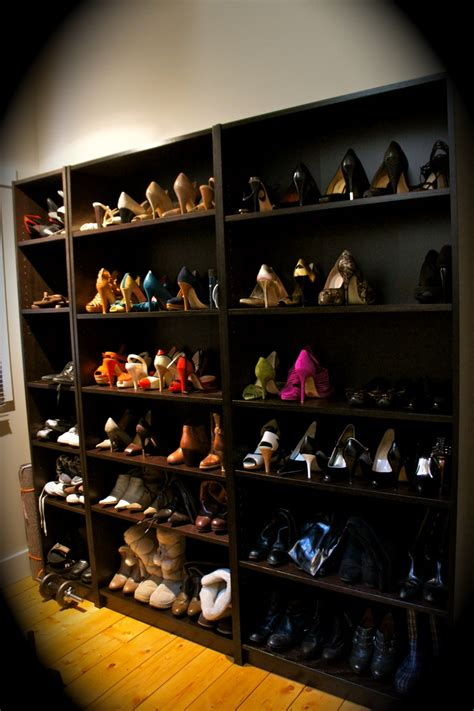 ikea billy bookcase shoes billy bookcases from ikea as shoe storage yes i have issues organize clean ocd pinterest