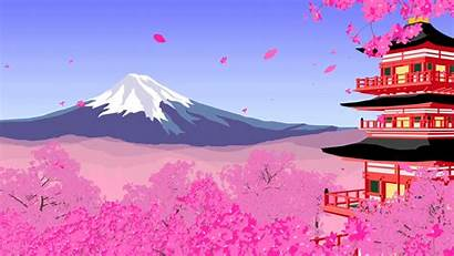 Japan Loop Power Animation