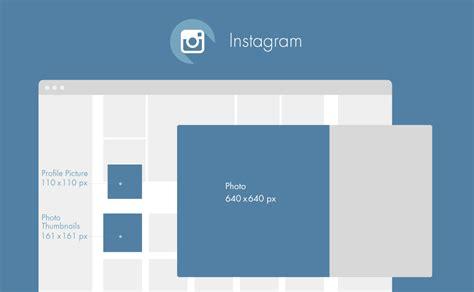Instagram Photo Dimensions Guide 2016 Les Dimensions Des Images Des R 233 Seaux Sociaux