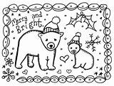 Christmas Coloring Cards Teacher sketch template