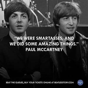 163 best Lennon... Paul Mccartney Quotes