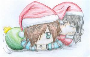 Christmas cute couples by L-chan-14 on DeviantArt
