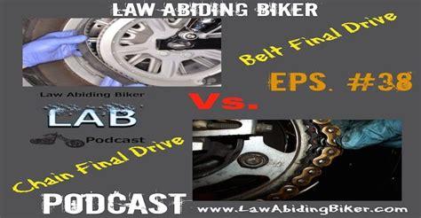 Motorcycle Belt Final Drive Vs. Chain Final Drive-biker