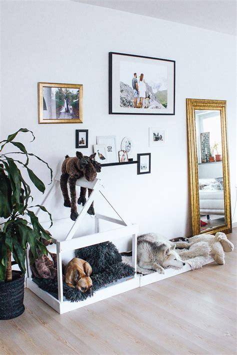 Hundehütte Für Die Wohnung by Diy Hundeh 252 Tte F 252 R Die Wohnung Selber Bauen Spoil