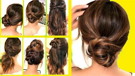 10 EASY Lazy Girl Hairstyle Ideas and Hacks {Step By Step