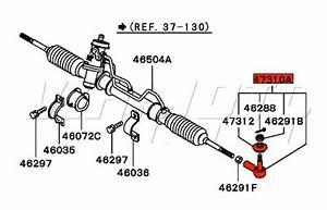 Viamoto Mitsubishi Car Parts Track Rod End
