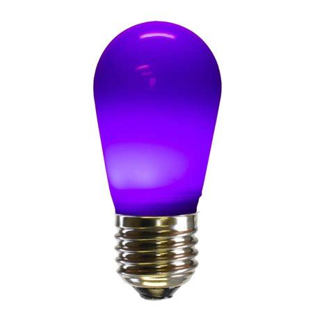 s14 light bulbs pack of 25 purple ceramic led s14 replacement