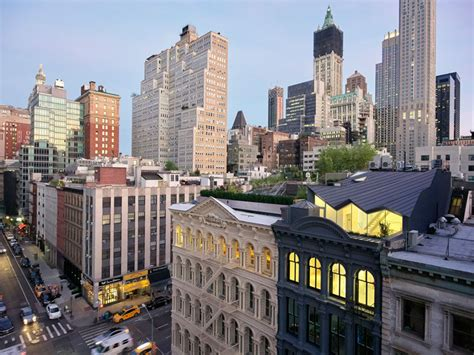 this building in new york has been transformed into modern apartments contemporist