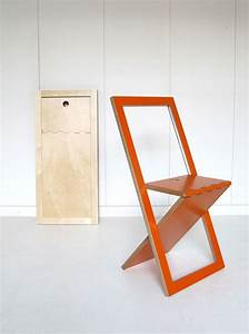 clever fold up wood chairs Woodworking Pinterest