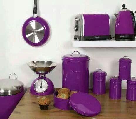 The 25+ Best Purple Kitchen Accessories Ideas On Pinterest