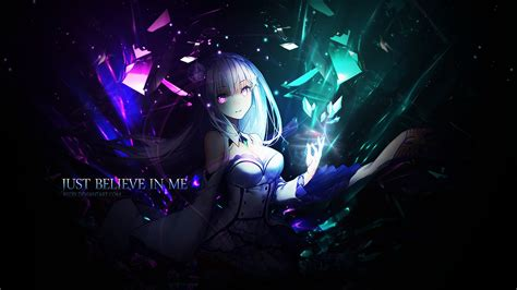 Desktop Anime Live Wallpaper - size anime re zero wallpaper emilia 2018 live