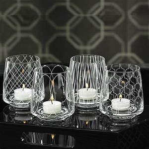 Bougeoir En Verre : le bougeoir en verre jolies tendances de d coration avec bougies ~ Teatrodelosmanantiales.com Idées de Décoration