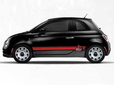 Fiat Of Louisville by 2013 Fiat 500 Abarth Ncaa Bodyside Graphic Louisville