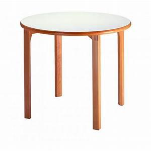 Table Ronde Bois Massif : table bois massif accueil design et mobilier ~ Teatrodelosmanantiales.com Idées de Décoration