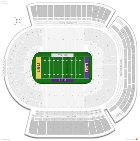 tiger stadium lsu seating guide rateyourseatscom