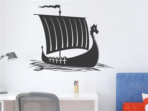 Kinderzimmer Junge Schiff by Wandtattoo Wikinger Schiff Wandtattoo De