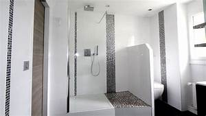 Deco Salle De Bain Gris : 40 fantastique salle de bain carrelage pour 2019 ~ Farleysfitness.com Idées de Décoration
