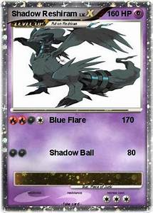 Pokémon Shadow Reshiram 5 5 - Blue Flare 170 - My Pokemon Card