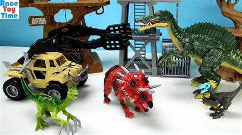 animal planet dinosaurs playset  kids clipfail