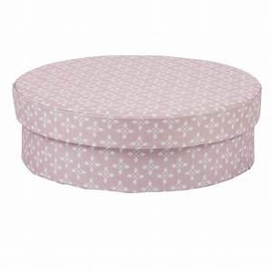 Boite Cadeau Ronde : bo te en carton ronde rose et blanche objet d coratif ~ Teatrodelosmanantiales.com Idées de Décoration
