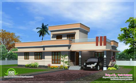 one floor homes 1300 sq one floor house exterior kerala home design