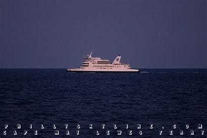 Cape Delaware Ferry Atlantic Ocean Bay Phillyskyline