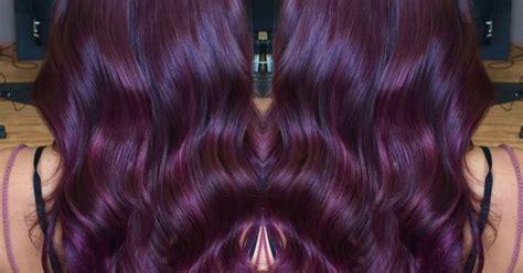 Violet Red Hair Color With Matrix Color Line, Socolor