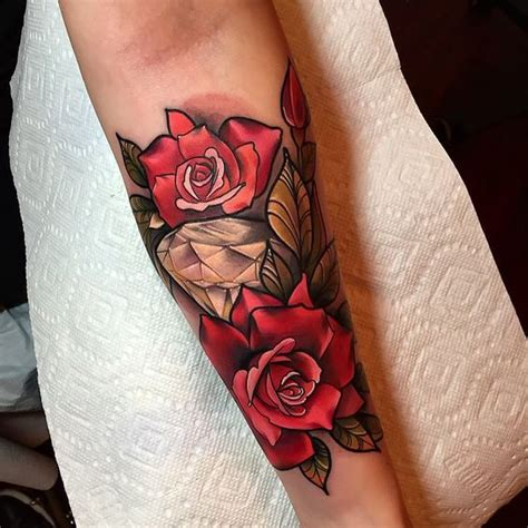 New School Rose  Google Search  Tattoos I Like