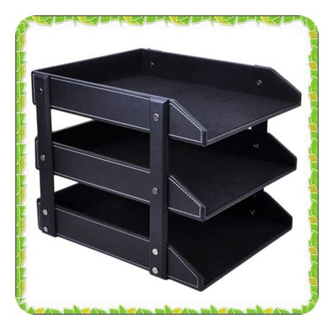 Office Supplies Paper Holder by Desk Paper Holder In File Tray From Office School