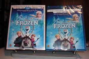 New & Sealed Disney's Frozen Blu-ray/DVD + Slip Cover ...