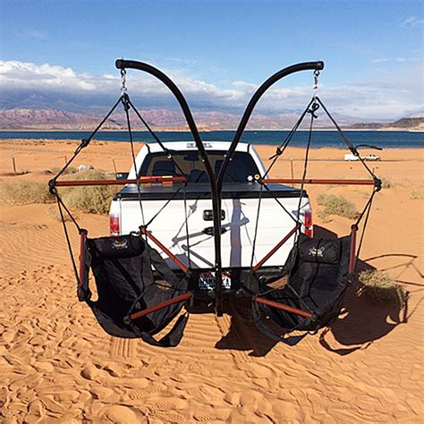 Tow Hitch Hammock by Trailer Hitch Hammock Set Up A Cing Hammock Without
