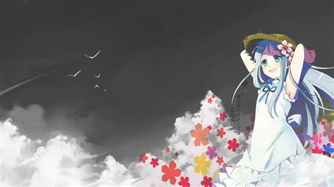 anime anohana the flower we saw that day sub indo menma the flower we saw that day anohana by nidarian