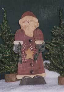 Wood Crafts Santa Claus