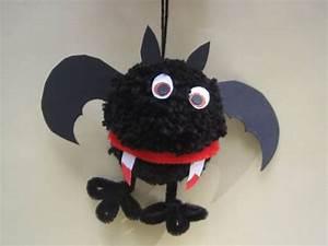 Basteln Halloween Mit Kindern : basteln mit kindern kostenlose bastelvorlage halloween bommelmonster ~ Yasmunasinghe.com Haus und Dekorationen