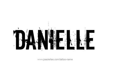 danielle  tattoo designs