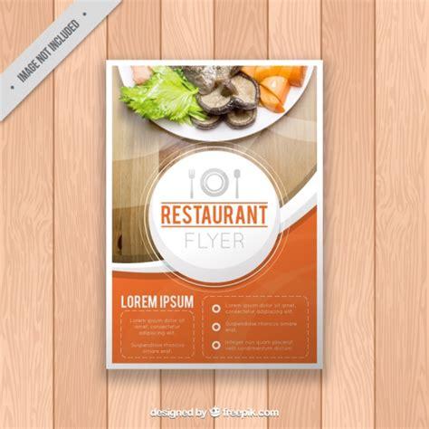 Restaurant Brochure Templates by Restaurant Brochure Template Vector Free