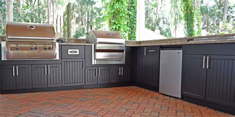 polymer cabinets for outdoor kitchens outdoor kitchen photo gallery yard design ideas ta 7518