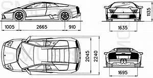 automobile blueprints car blueprints lamborghini With smart car engine size