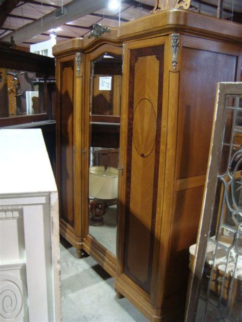 antique bedroom sets carved wooden armoire