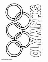 Olympic Coloring Rings Olympics Pages Circles Ring Printable Printables Ancient Template History Greek Volume Guitar Below Popular Sketch Getcolorings Results sketch template