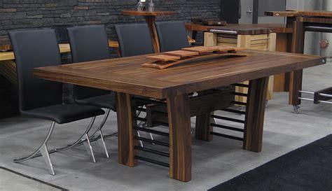 Tables en bois massif u2013 Signature Stu00e9phane Dion