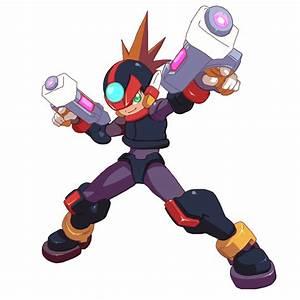 Megaman Axl ConceptArt (Axl Megaman Zero Style) by ...