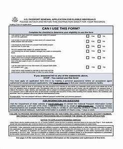 passport renewal form sample passport renewal form free With what documents passport renewal