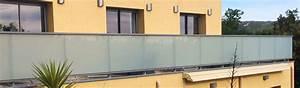 Garde Corps Terrasse Aluminium : dani alu panorama garde corps aluminium pour balcon accessible ~ Melissatoandfro.com Idées de Décoration