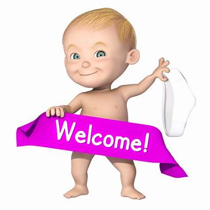 Welcome Cartoon Denys Animated Character Characters Banner